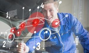 Lrover: Tagliando auto per tutte le cilindrate con lavaggio più pastiglie freni Brembo (sconto fino a 86%)