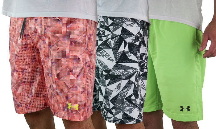 47b5221c Up To 36% Off on Under Armour Heatgear Shorts | Groupon Goods