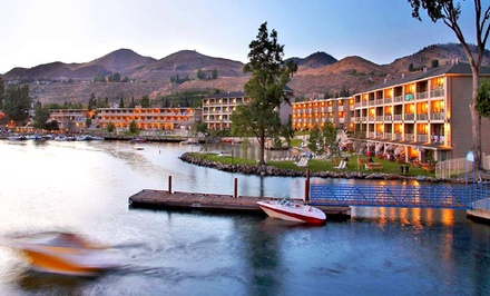 Stay at Campbell's Resort on Lake Chelan in Chelan, WA, with Dates into February 2018