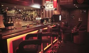 Le Windy Lounge: Une assiette de tapas Al Capone avec 2 verres de vin rouge à 18 € au Windy Lounge