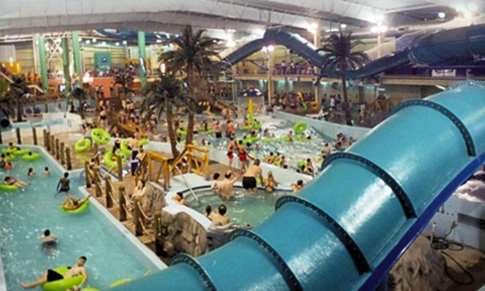 H2Oasis Indoor Waterpark - O'Malley: Outing for Child or Adult to H2Oasis Indoor Water Park (Up to 56% Off)