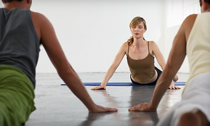 Aum Center Yoga - Downtown Toronto: Five Classes or One, Two, Three, or Four Months of Unlimited Classes at Aum Center Yoga (Up to 72% Off)