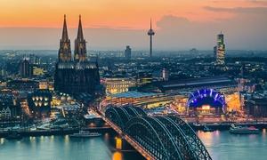 Kölntourist Personenschiffahrt: 2 Tickets für die Adventstour inkl. Live-Musik und Heißgetränk mit KÖLNTOURIST Personenschiffahrt am Dom (50% sparen)