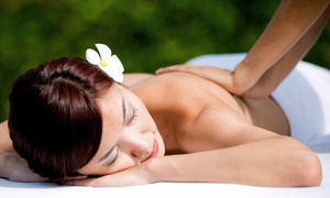 New Beginnings Fair: One-Hour Full-Body Massage with Option of Foot Detox at New Beginnings Fair (47% Off)