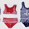 Rugged Bear Girls' One- and Two-Piece Swimsuits