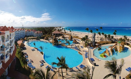 groupon daily deal - ✈ All-Inclusive Barceló Punta Cana Stay with Air. Incl. Taxes & Hotel Fees. Price per Person Based on Double Occupancy.