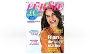 Eventus Media GmbH: Jahres-Abo (26 Ausgaben) der Zeitschrift FÜR SIE (87% sparen*)