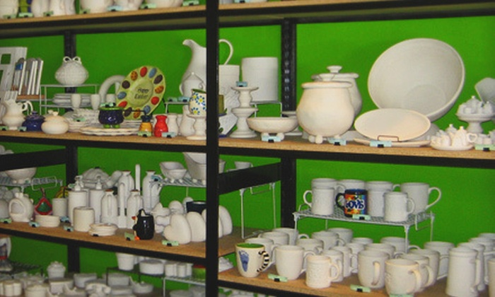 Create It Ceramics - Stanford University: $10 Toward Pottery Painting and Glass Fusion
