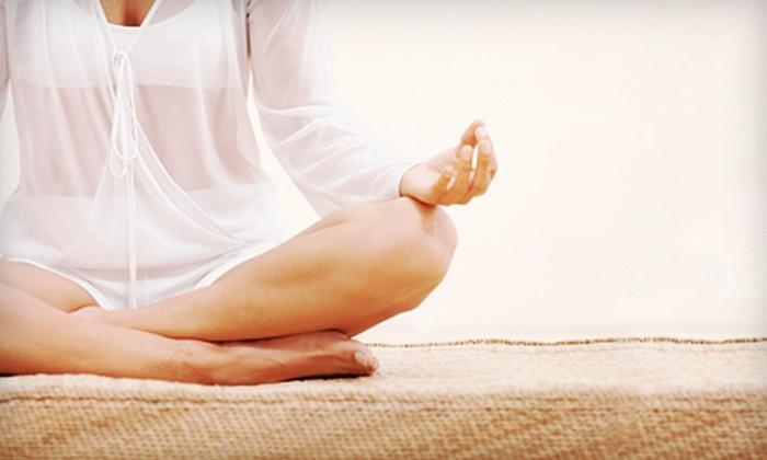 La Sangha Yoga de Gatineau - District de Val-Tetreau: Ten Drop-In Yoga Classes or One Month of Unlimited Classes at La Sangha Yoga in Gatineau (Up to 70% Off)