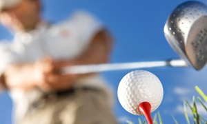 Pine Island Golf Course: 18-Hole Round of Golf with Cart and Range Balls for Two or Four at Pine Island Golf Course (Up to 49% Off)