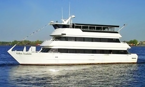 "Ben Franklin Yacht: 90-Minute Philadelphia Harbor Cruise for Two or Four from ""Ben Franklin Yacht"" (Up to 55% Off)"