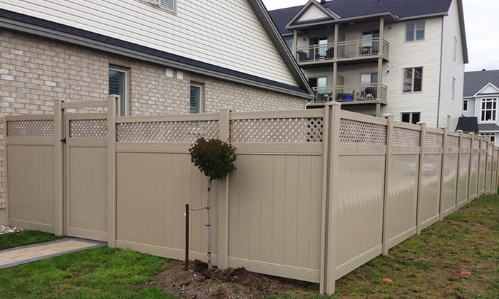 Fence it - Ottawa: Up to $600 Toward Fence Installation (50% Off). Three Options Available.