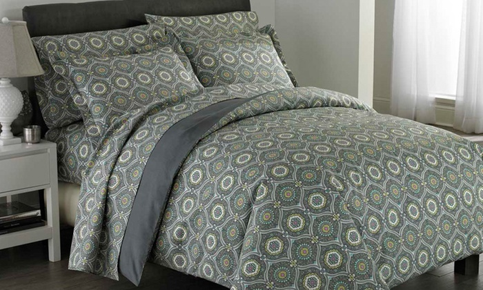6-Piece Comforter Sets: 6-Piece Comforter Sets. Multiple Styles and Sizes from $69.99–$79.99 Available. Free Shipping.