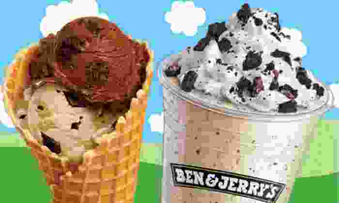 Ben & Jerry's - Boise: $15 for a Punch Card for 10 One-Scoop Ice-Cream Treats at Ben & Jerry's ($30 Value)