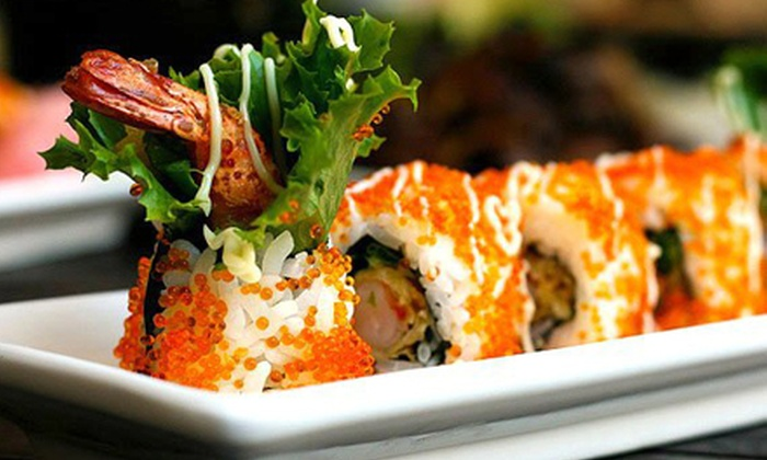 Iron Chef Japanese Cuisine - Phoenix: $17 for Sushi Meal for Two with Two Rolls, Edamame, Soup, and Drinks at Iron Chef Japanese Cuisine ($35.50 Value)