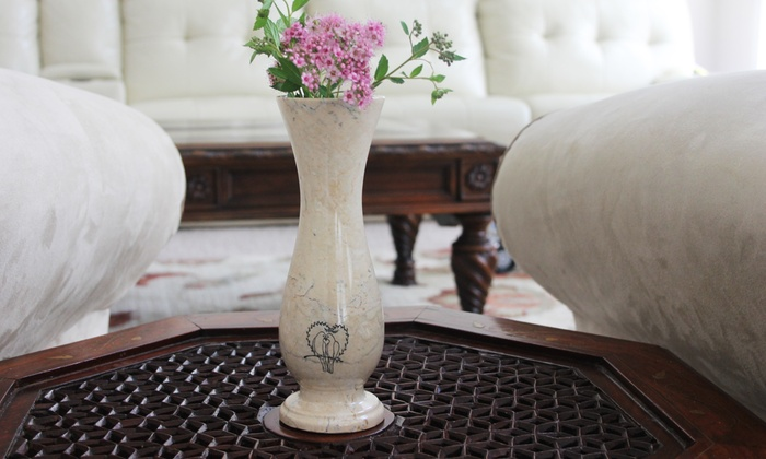 Marble Products International: Personalized Marble Vase from Marble Products International