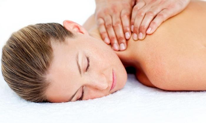 "Healing Palm Llc - Healing Palm LLC: 60-Minute Deep-Tissue Massage and a Decompression Exam from Healing PALM LLC"""" (49% Off)"