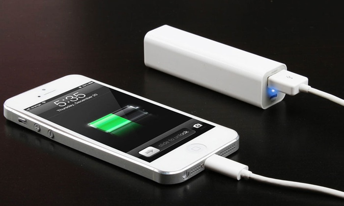 Photive Portable Backup Battery Power Banks: Photive 2,600 mAh or 5,200 mAh Portable Backup Battery Charger Power Bank (Up to 62% Off). Free Shipping and Returns.