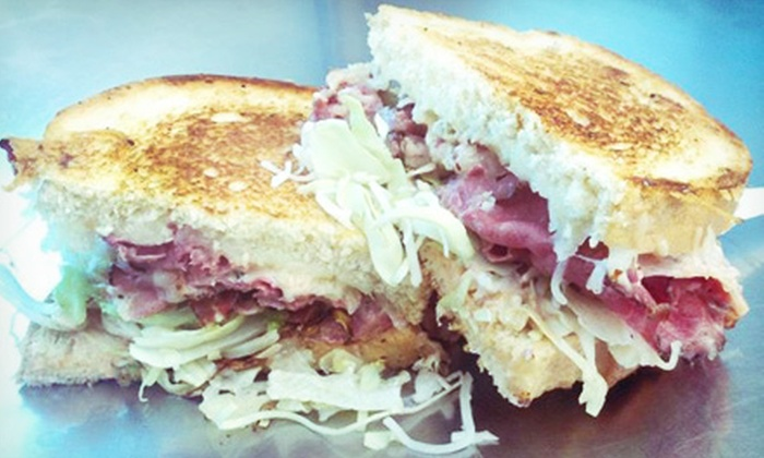La Pastrami - SoMa: Pastrami Sandwiches at La Pastrami (Up to 52% Off). Two Options Available.
