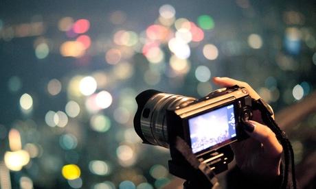 Iniciación a la fotografía, picoteo y e-curso y opción a curso nocturno para 1 o 2 desde 14,90€ con Planeta Insólito