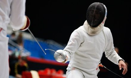 A Fencing Class at Red Stick School of Fencing (40% Off)
