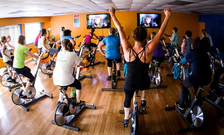 5 or 10 Spin Classes at RydeOn (Up to 64% Off)