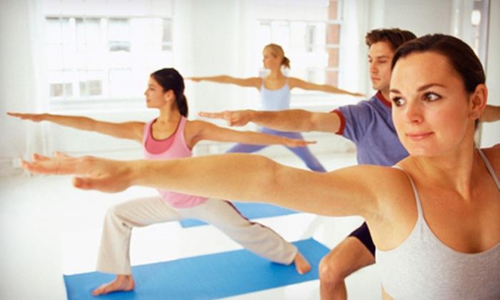 Smokin' Hot Yoga - Landmark Center: 10 or 15 Classes at Smokin' Hot Yoga (Up to 63% Off)