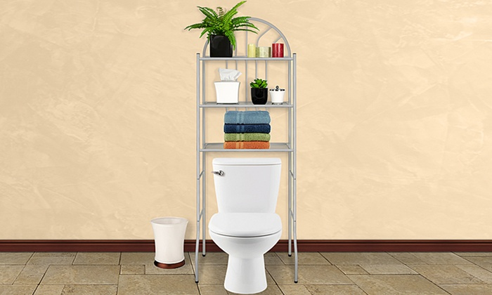 3-Level Metal Bathroom Space Savers: 3-Level Metal Bathroom Space Savers. Multiple Colors. Free Returns.