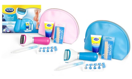 One or Two Scholl Velvet Smooth Marine Minerals Gift Sets