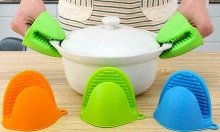 Mini guanti da cucina in silicone