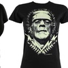Universal Monsters 100% Cotton Womens T-Shirts