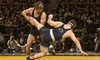 University of Iowa Athletics - Lincoln: Iowa Hawkeyes Women's Basketball Game or Men's Wrestling Match for Two at Carver-Hawkeye Arena (Up to Half Off)