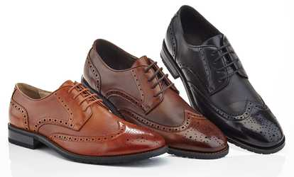 Adolfo Men S Lace Up Oxford Dress Shoes Reviews