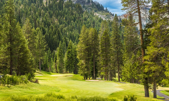 The Links at Squaw Creek - Olympic Valley, California: 18-Hole Round of Golf with Cart and Range Balls for One, Two, or Four at The Links at Squaw Creek (Up to 51% Off)