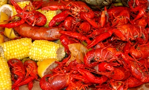 Hot Crab: $11 for $20 Worth of Cajun Seafood at Hot Crab