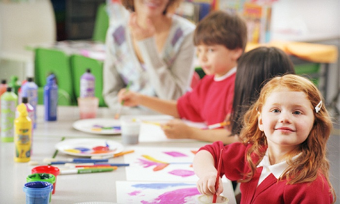 The Painted Cloud - Williamsburg: $10 for a Kids' Art Explorers Drop-In Class at The Painted Cloud ($20 Value)