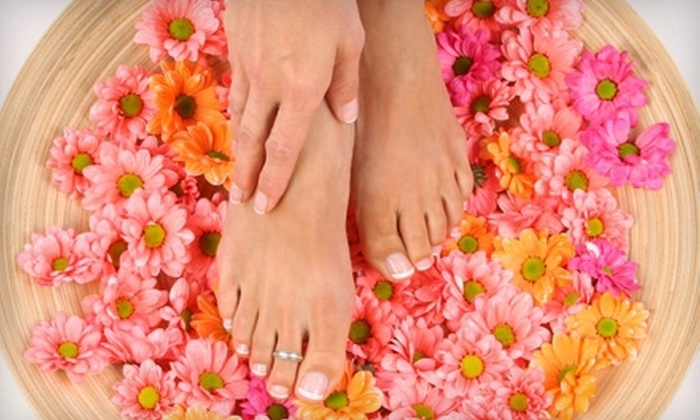 Spoil Me Spa & Salon - Mountain View: One or Two Manicures and Spa Pedicures at Spoil Me Spa & Salon (Up to 65% Off)