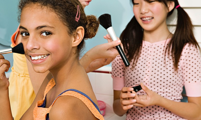 A Girl's Place - Beverly: Spa Party or Deluxe Spa Party for Kids from A Girl's Place (Up to Half Off)