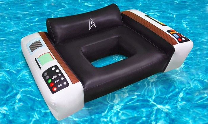 Star Trek Captainu0027s Chair Pool Float