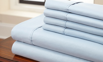 1,200-Thread-Count New Season 100% Pima Cotton Queen or King 4-Piece Sheet Sets