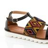 Rasolli Women's Platform Sandal (Size 8.5)