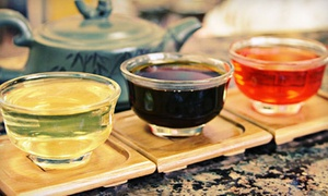 Aroma Tea Shop: $25 for $50 Worth of Tea at Aroma Tea Shop