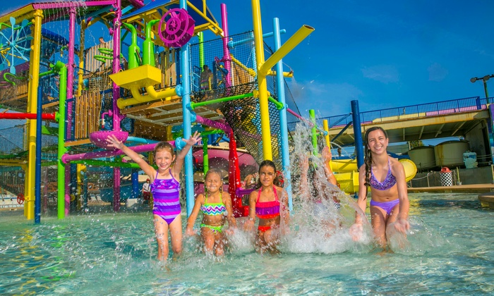 Daytona Lagoon - Brush / Stewarts: Admission to the Water Park for One or Family Fun Package for Four at Daytona Lagoon (Up to 45% Off)