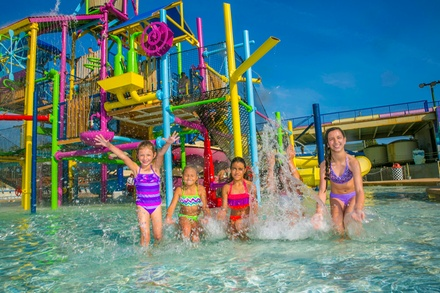 Admission to the Water Park for One or Family Fun Package for Four at Daytona Lagoon (Up to 45% Off)