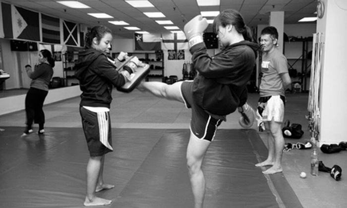 Toronto Kickboxing & Muay Thai Academy - Multiple Locations: $25 for Five Adult or Children's Classes at Toronto Kickboxing & Muay Thai (TKMT) Academy ($100 Value)
