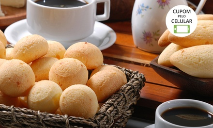 Pão de Queijo Vó Olívia – SAAN: 5 ou 10 kg de biscoito de queijo ou 6 ou 12 kg de pão de queijo (ambos congelados)
