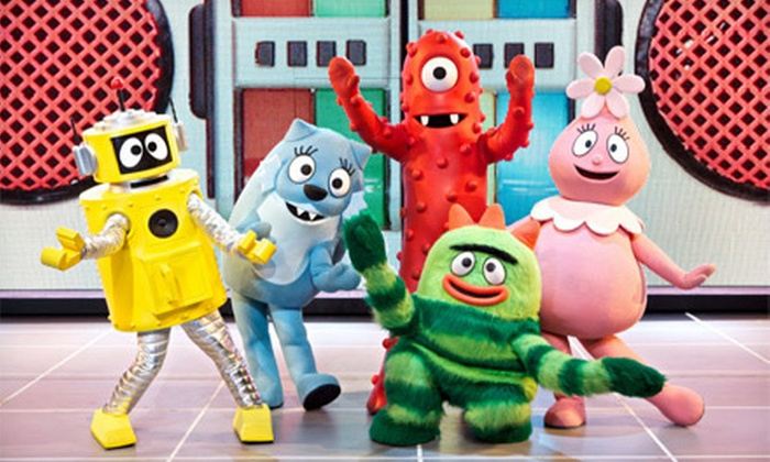 """Yo Gabba Gabba! Live: Get the Sillies Out! - The Dome at Toyota Presents Oakdale Theatre: """"Yo Gabba Gabba! Live: Get the Sillies Out!"""" at Toyota Presents Oakdale Theatre on Saturday, February 9, at 5 p.m."""