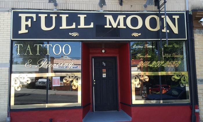 Full Moon Tattoo - Full Moon Tattoo: One or Two Hours of Tattoo Services at Full Moon Tattoo (Up to 51% Off)