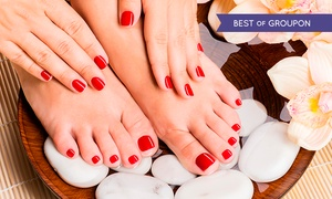 Victorian Nails Limited t/a USA STAR NAILS: Shellac Polish For Hands (£12) or Feet (£18) or Both (£26) at USA Star Nails