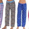 Love 2 Sleep Women's Printed Pajama Pants (3-Pack)